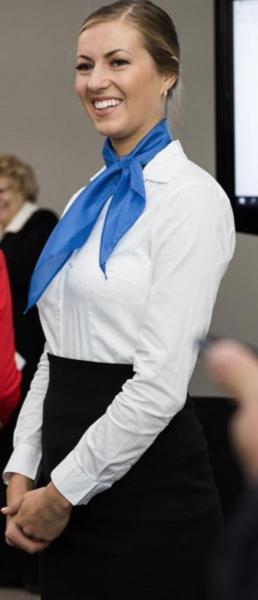Mariann Tallinn Promotion Staff
