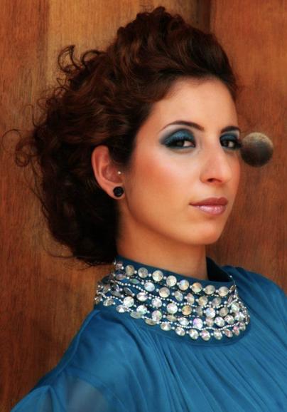 Nadine A Dubai Promotion Staff