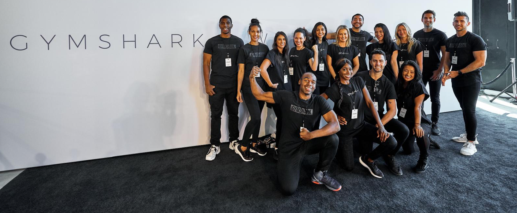 Gymshark Promo Staff for hire at events