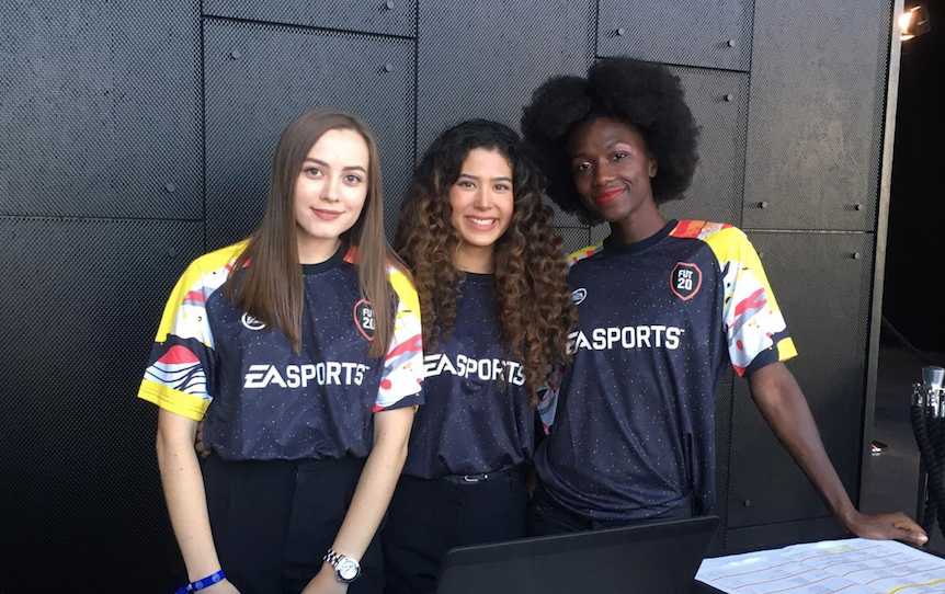 Promo Staff for Fifa 20 Launch