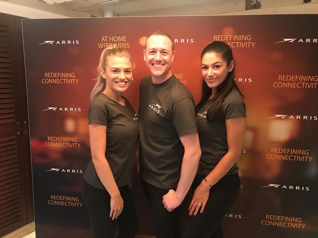 Manchester Exhibition Staff