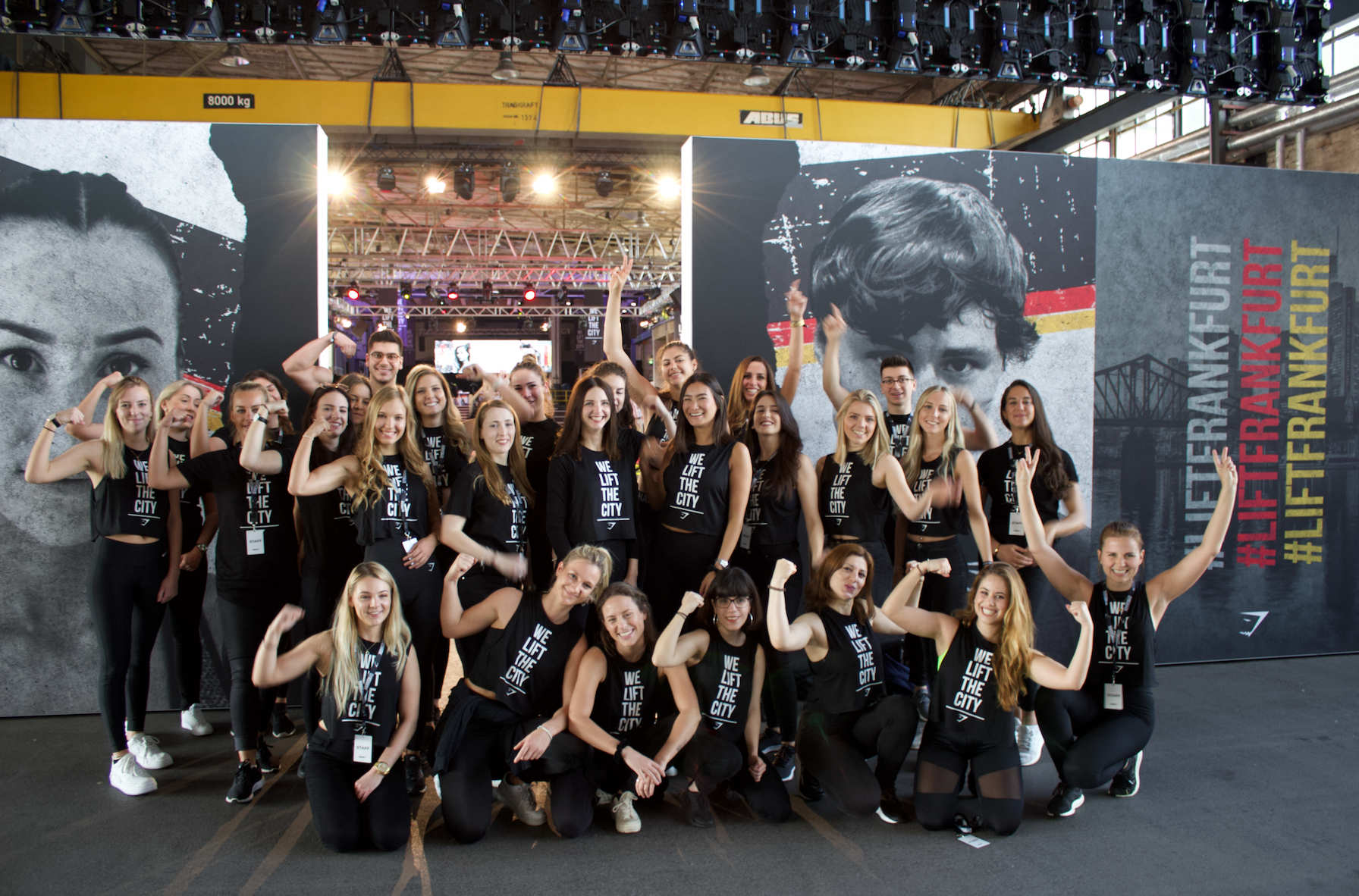 Event Staff for BodyPower at the nec Birmingham