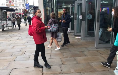 London Leafleting Staff