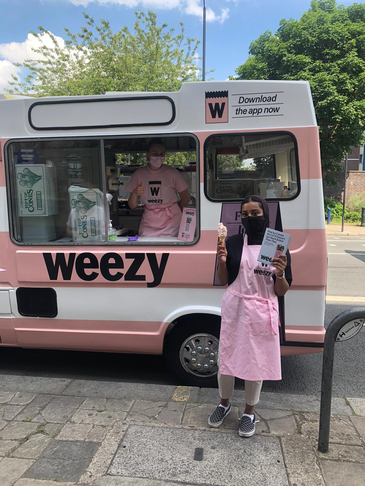 Weezy Promotion Staff